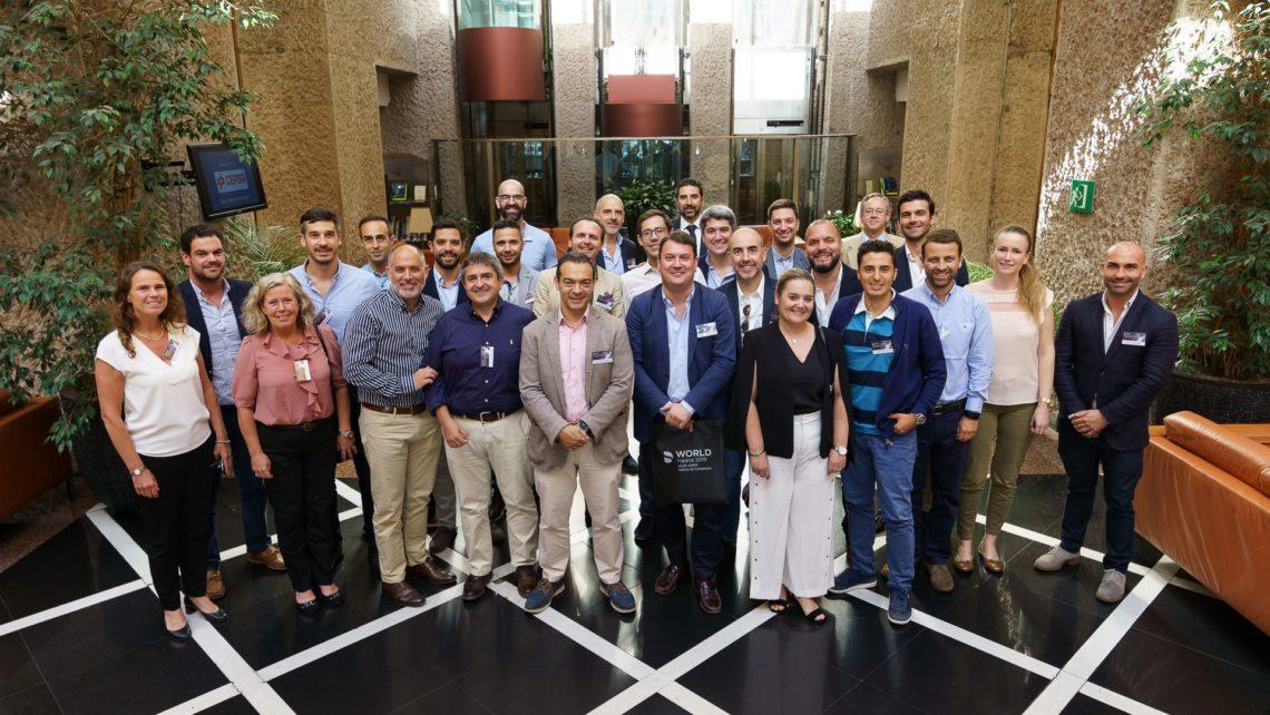 La doctora María Luisa Broseta participó en la reunión del selecto grupo de profesionales PEERS